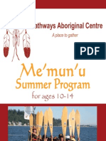 Memunu Summer 2011 Brochure