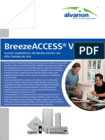 ALVARION - Breeze Access VL Datasheet Spanish