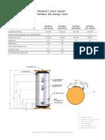 DataSheet - StorMaxx DW Storage Tank