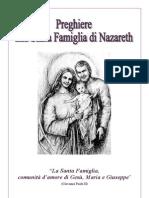 Preghiere alla Santa Famiglia - Stampa 8,1 2,7 - 6,3 4,5
