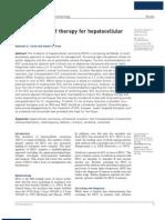 Carcinoma Hepatocelular Tratamiento Actual