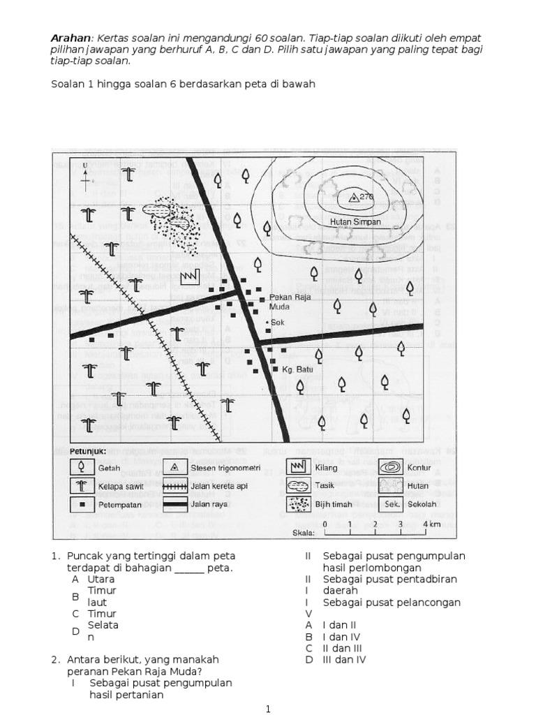 Latihan Geografi Tingkatan 1 In 2020 Bullet Journal Journal