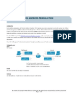 Cisco NAT Overview