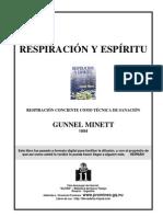 RESPIRACION Y ESPIRITU