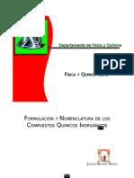 Formulacion compuestos inorganicos