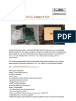 8051 Based RFID Project Kit