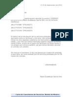 Carta de Cancelacion de Servicios Nextel de Mexico