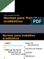 aula 06 - Normas para Trabalhos acadêmicos