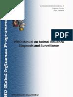 WHO Manual Influenza 2002