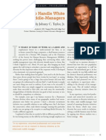 Diversity Journal   How To Handle White Middle-Managers - May/June 2011