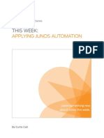 This Week Applying Junos Automation