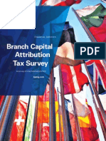 2010 Branch Capital Attribution Tax Survey_Final