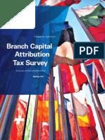 2010 Branch Capital Attribution Tax Survey_Final