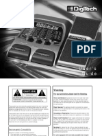 Digitech Rp200 Manual