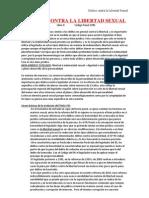 Delito Contra La Libertad e Indemnidad Sexual - Ttulo VIII Libro II CP