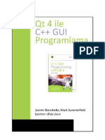 Qt 4 Ile C++ GUI Program Lama