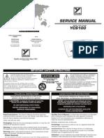 YCS100 Service Manual