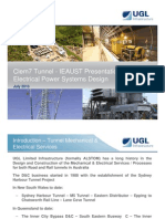 Tunnel Electrical Power Systems Design