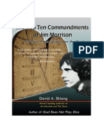 Jim Morrison Top 10 Commandments 0607