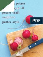Clarkson Potter - Spring 2012 Catalog
