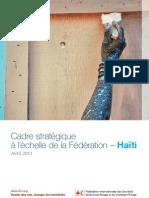Cadre stratégique à l'échelle de la Fédération pour Haïti