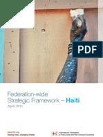 Federation-wide Strategic Framework for Haiti