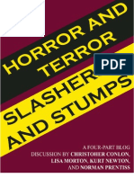 Horror and Terror, Slashers and Stumps