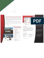 Web Design and Marketing Flyer