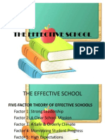 The Effective School