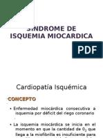 Síndrome de isquemia miocardica