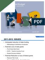 HISD Budget Presentation 062311