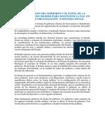JUSTIFICACION DEL GOBIERNO Y EL PAPEL DE LA AUTORIDAD COMO MEDIOS PARA MANTENER LA PAZ  EN CUALQUIER ORGANIZACIÓN  O SISTEMA SOCIAL