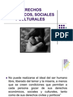 Derechos cos Sociales y Culturales