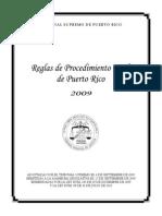 Reglas de Procedimiento Civil (Nuevas)