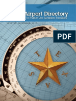 Texas Airports Directory (2010)