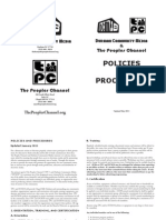 Policies and Procedures May 2011 Web View