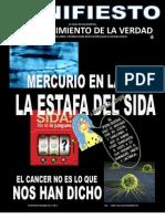 Manifiesto 2 - Amalgamas, SIDA y Cancer