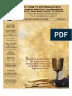 June 26, 2011 Bulletin