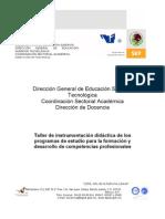Instrumentación didáctica FUND DE ADMON