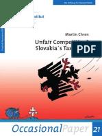 Slovakia's Tax Policy