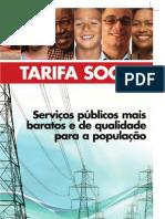 Cartilha Tarifa Social – 2ºsemestre/2007
