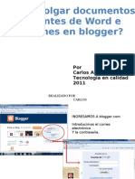 Induccion Blogger