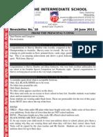 Newsletter June 24th