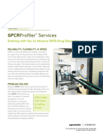 GPCRProfiler Services - Evolving with You to Advance GPCR Discovery
