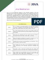 Jivananda Meditation  Technique (www.jiva.com)