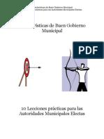 Caracterisiticas de Buen Gobierno Municipal