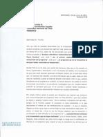 Carta Dirigida a TVN