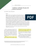 Sutura palatina mediana avaliação do grau de ossificação em crânios humanos