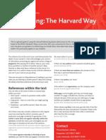 Harvard Factsheet