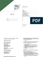 Buku Log PRS 2010